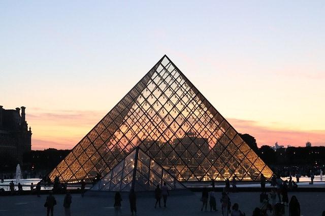Paris Museum Of Louvre France