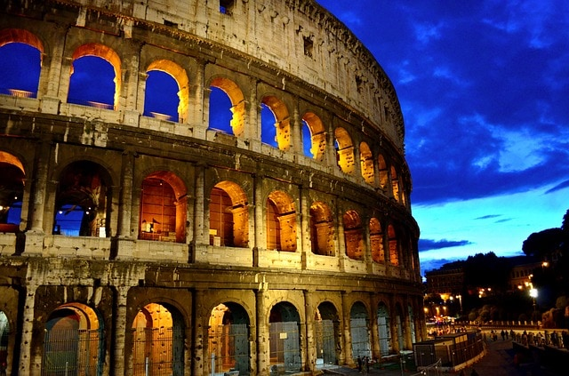 Rome Colosseum Italy Capital