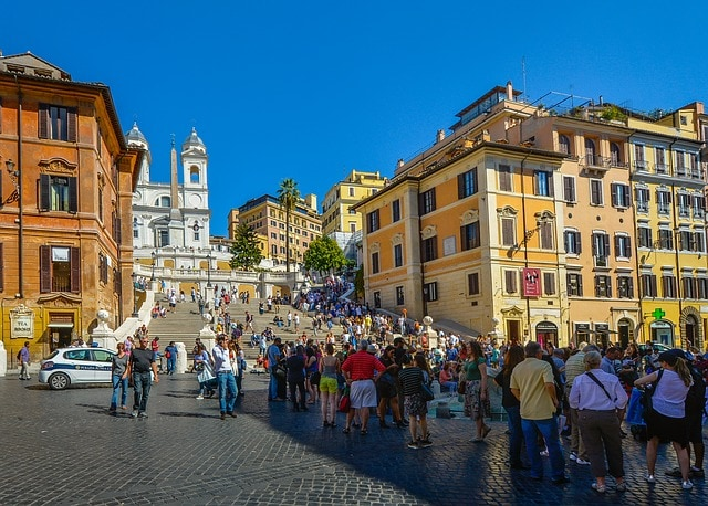 Rome Spanish Steps Monument City
