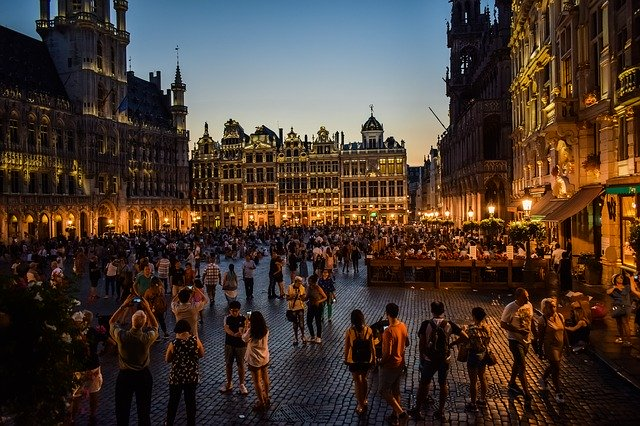 Belgium Brussels Grand Place
