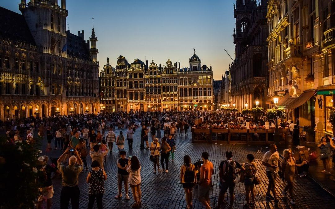 Bruselas y Ámsterdam en tren