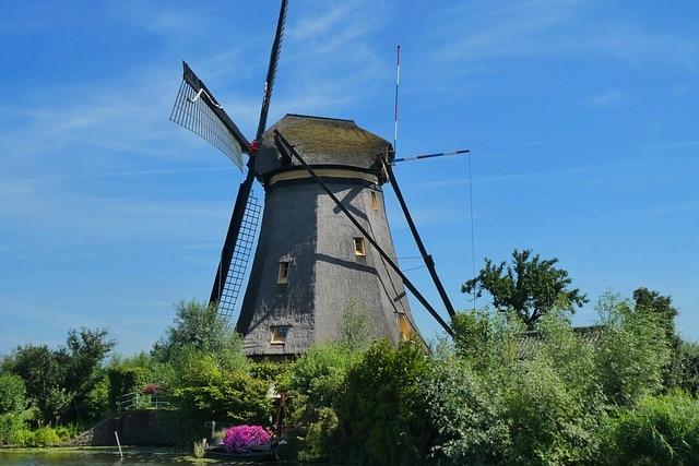 Windmill Kinderdijk The Netherlands