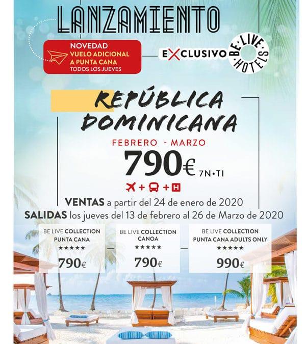 Oferta Punta Cana desde 790€