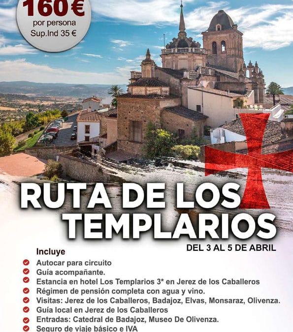 Ruta de los templarios desde Málaga por 160€