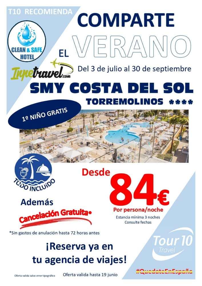 Oferta PostCovid Smy Costa del Sol en Torremolinos